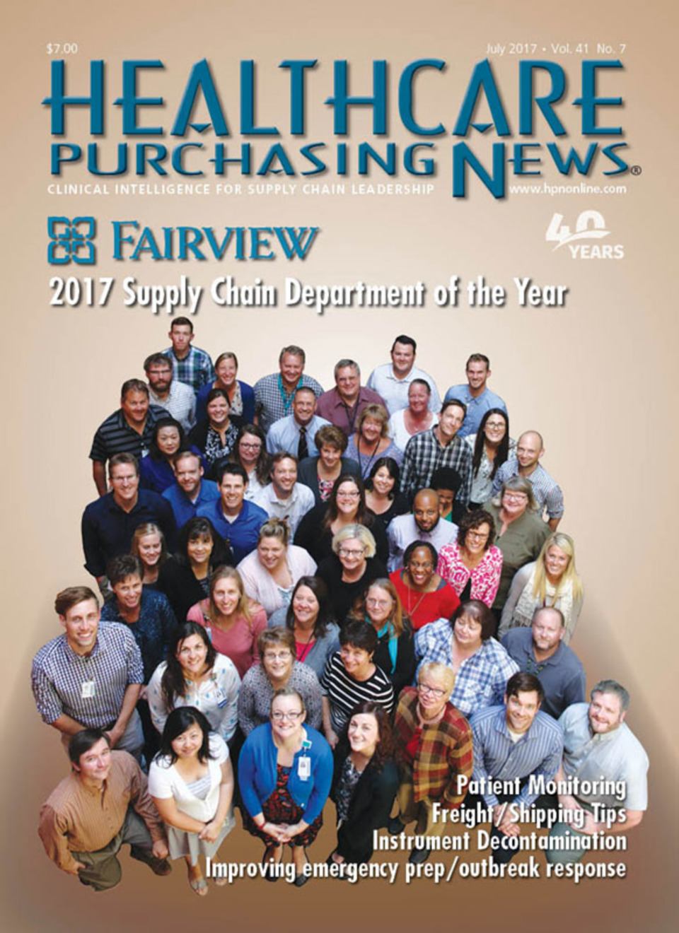 Fairview puts the 'i' in teamwork: Investment