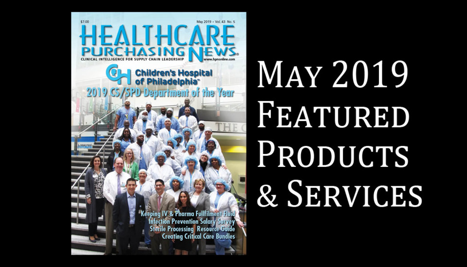 May 2019 Featured Products & Services