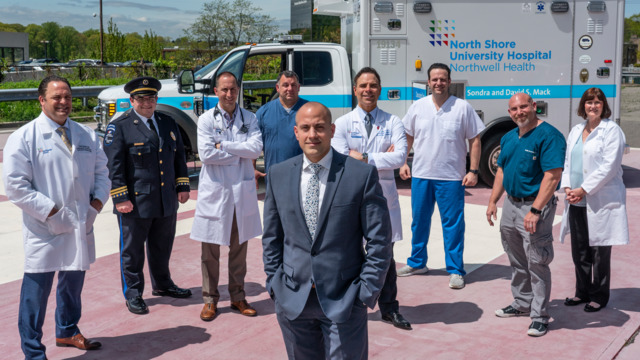 Northwell mobile medical team treats sickest patients with